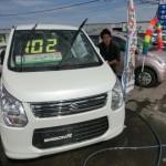 展示場の洗車!!
