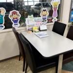 「ショールームのテーブル」リニューアルしました♪