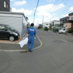 本日、地域清掃の日☆